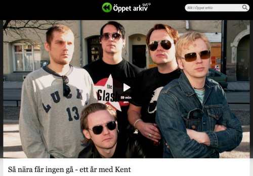 S nra fr ingen g - ett r med Kent