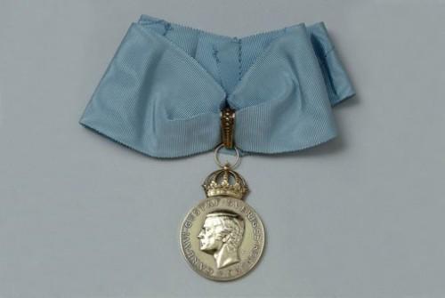 H.M. Konungens medalj.